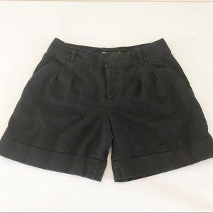 Michael Kors Black Linen Shorts